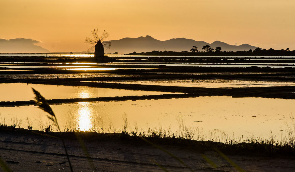 Mulini a vento Saline di Marsala: fonte Daniele Mercadante