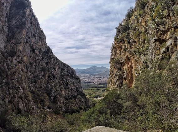 La valle del porco - Monte Pellegrino: fonte cittametropolitana.pa.it