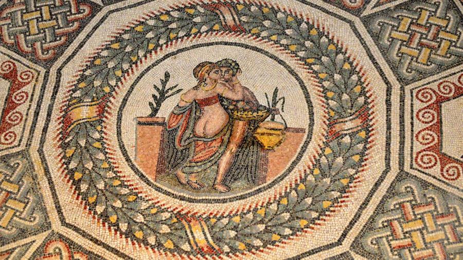Mosaico Villa romana del Casale ioamolasicilia.com