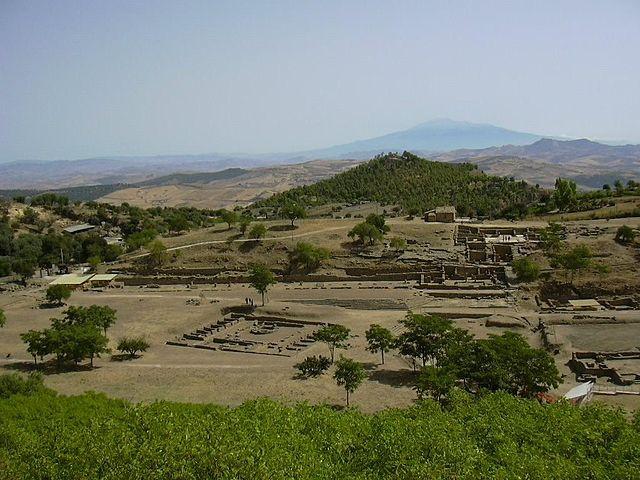 Morgantina panorama: fonte Wikipedia