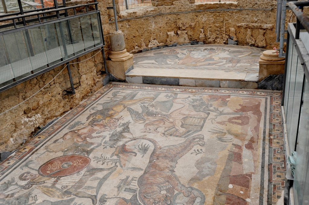 Mosaici 9 Villa romana del Casale: fonte allaricercadishambala.it