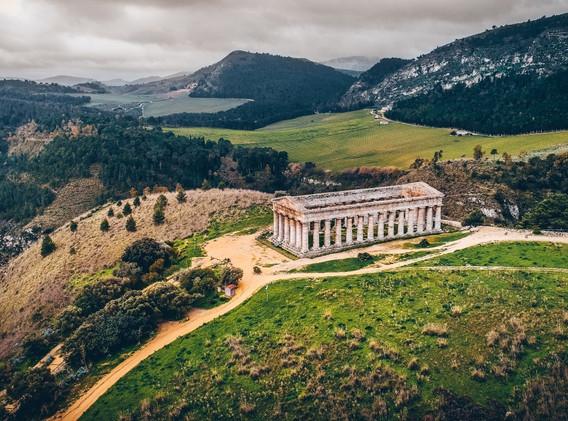 Tempio di Segesta: fonte Mauro Sciambi