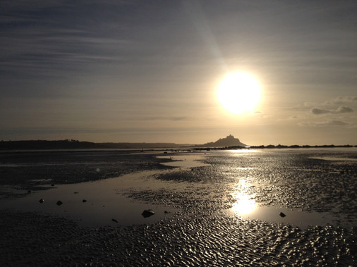 Morning Sun Over The Mount