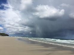 Rainclouds over Sennen