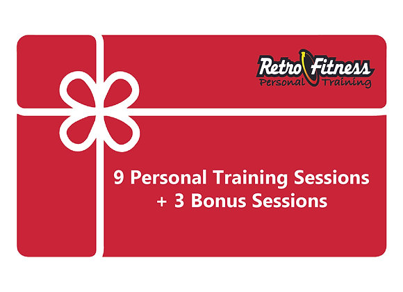 9 Personal Training Sessions