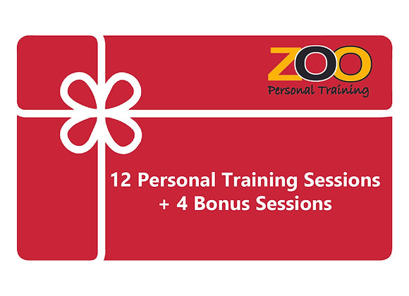 12 Personal Training Sessions