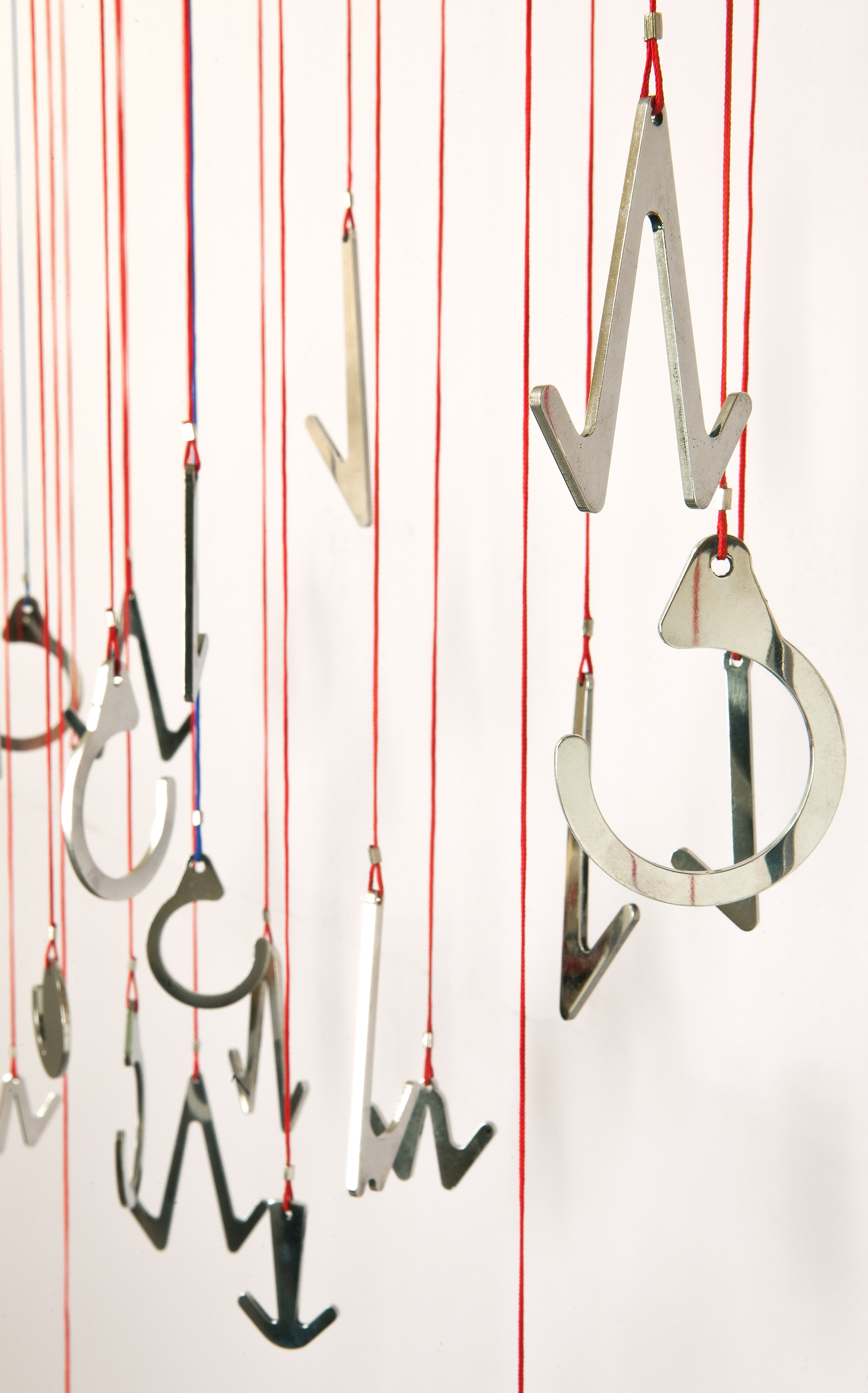 Hanging Hooks, Ceiling Or Wall Mounted, Made Out Of Polished