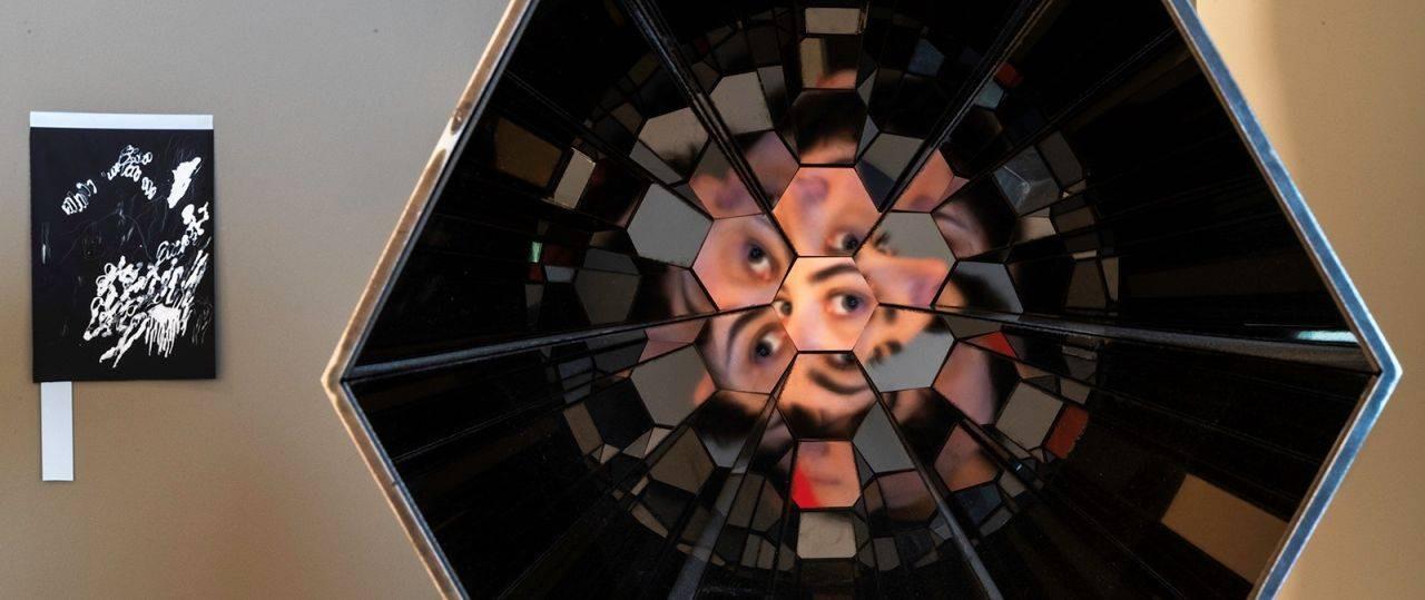 מתוך ״התקף-זאום״ נינו ביניאשוילי צילום: נועם-פריסמן