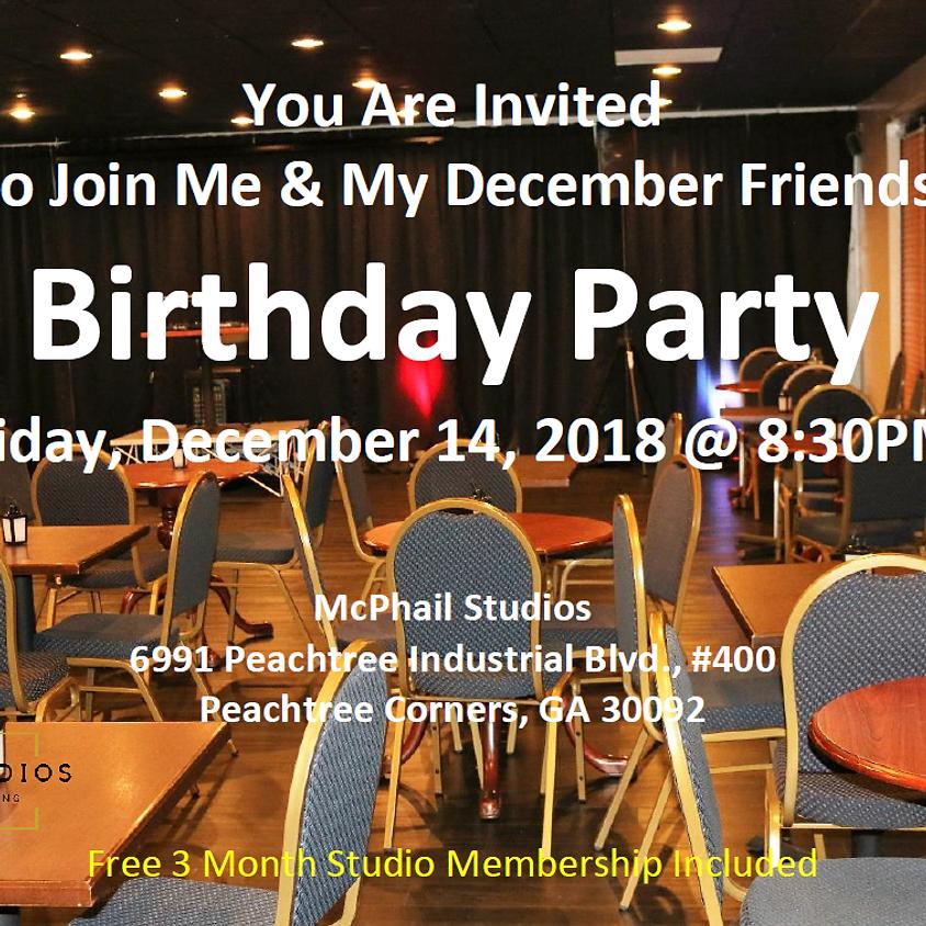 December Birthday Party