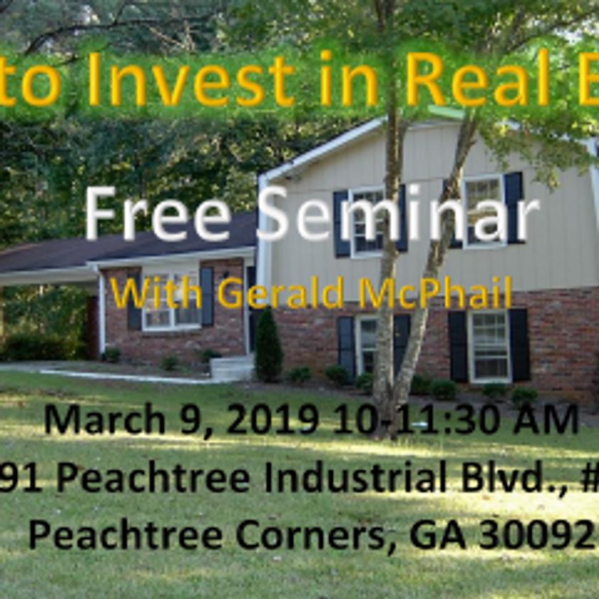 Free Real Estate Investing Seminar