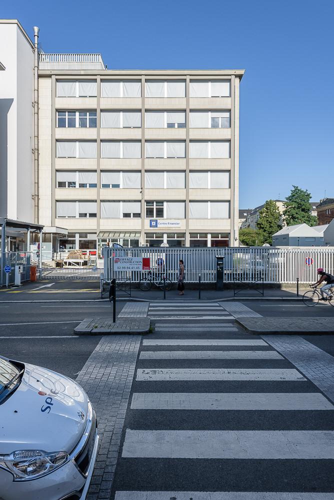 PAUL BOUET ARCHITECTE - CENTRE FINANCIER LA BANQUE POSTALE - RENNES