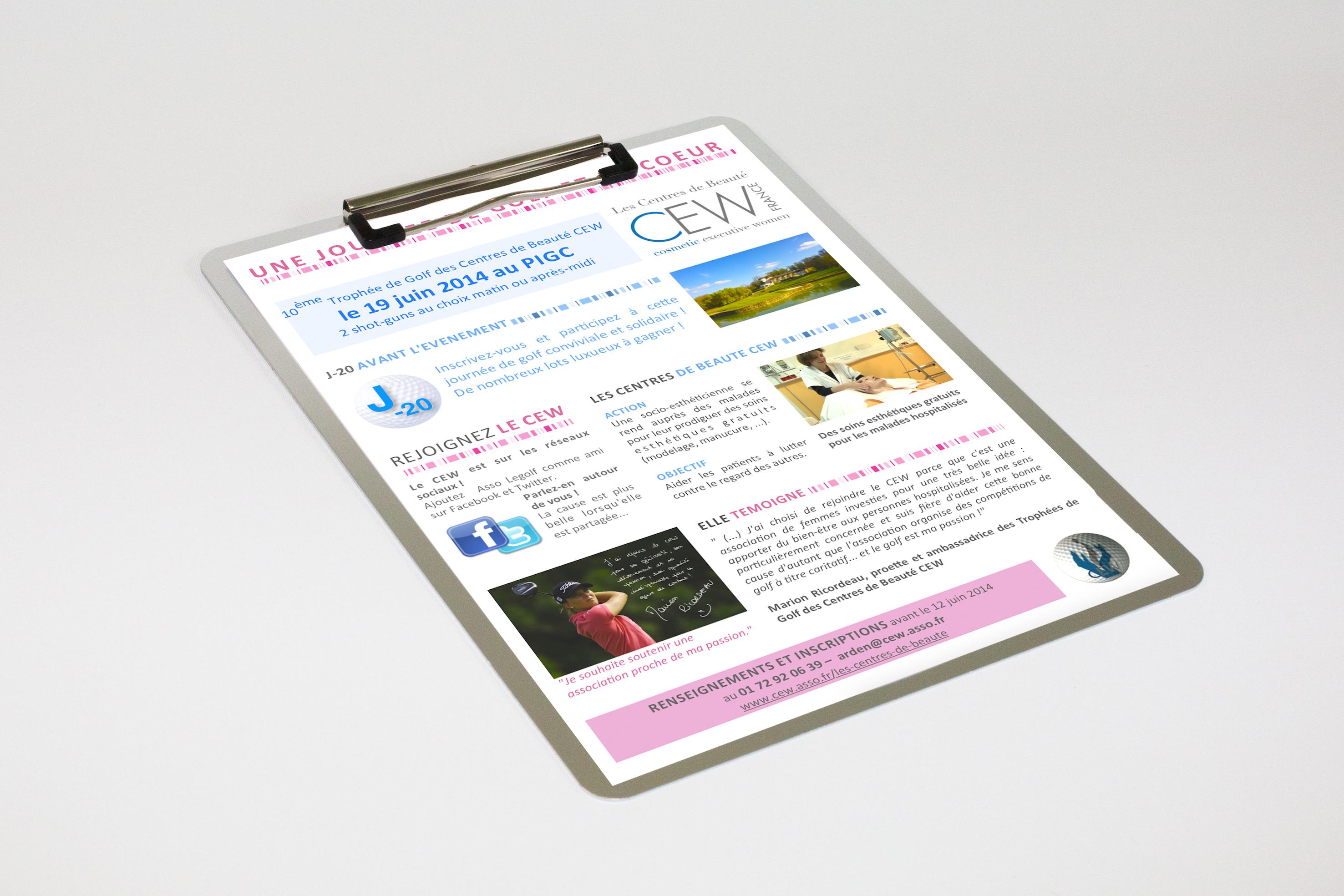 Newsletter Golf CEW