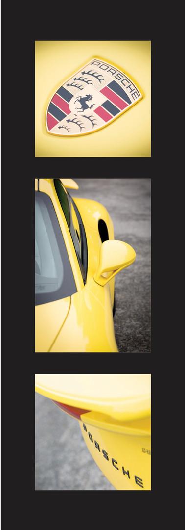 Triptique jaune