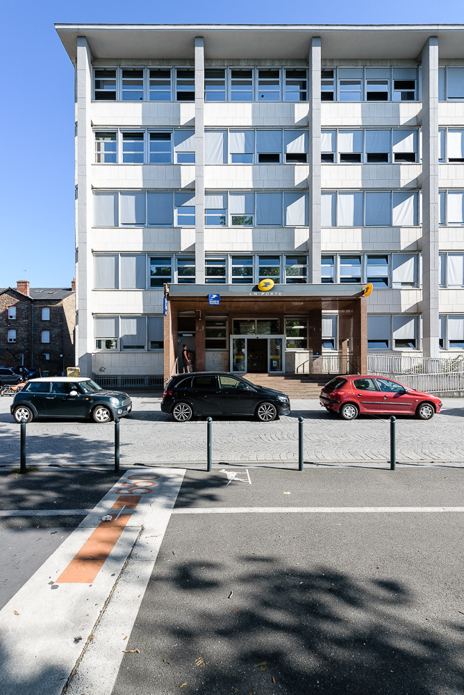 PAUL BOUET ARCHITECTE - CENTRE FINANCIER LA BANQUE POSTALE - RENNES