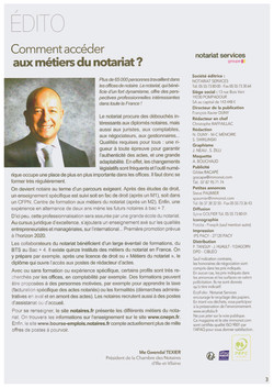 Notaires 35 - N°261 - Mars 2020