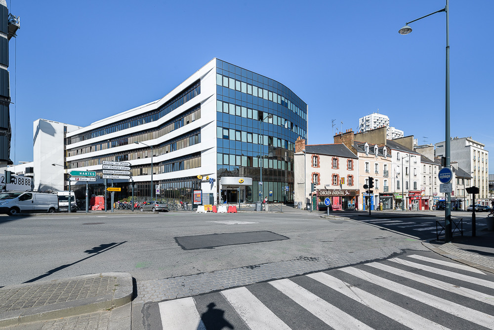 PAUL BOUET ARCHITECTE - CENTRE DE TRI COLOMBIER - RENNES