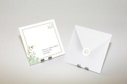 Enveloppe - Timbre - Sticker