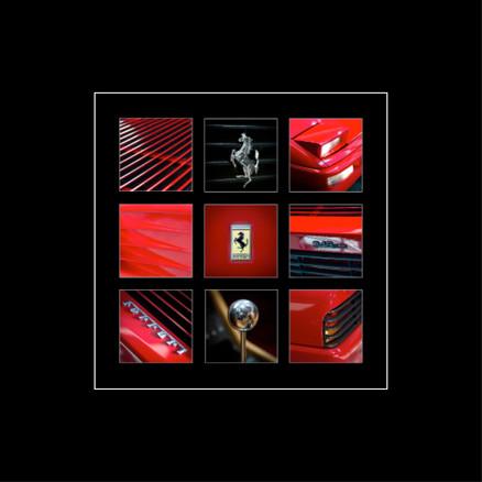 9 Vues Coeur Rouge Ferrari 348 GTS - 2020
