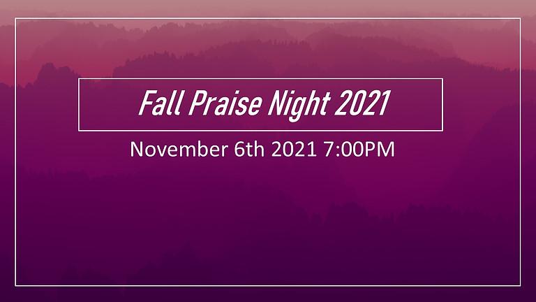 Fall Praise Night