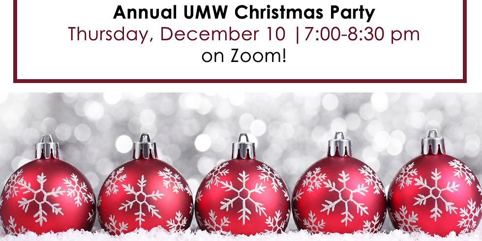 Annual UMW Christmas Dinner