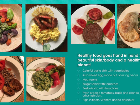 Healthy Skin and Healthy Planet Goes Hand in Hand.