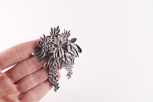 FLORAL GARDEN brooch