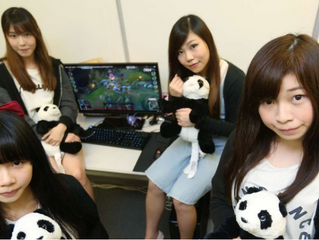 『SCMP』 — Gamer girls: Hong Kong's first all-female professional video gaming team PandaCute defy dou