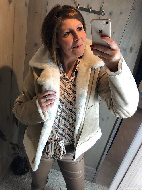 Reversible short jacket K Design
