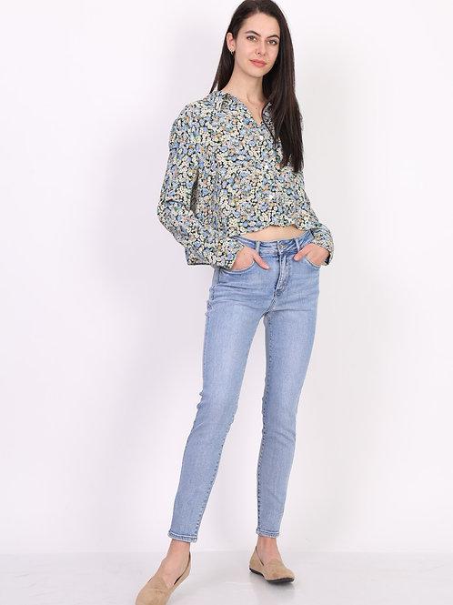 TOXIK mid waist light jeans