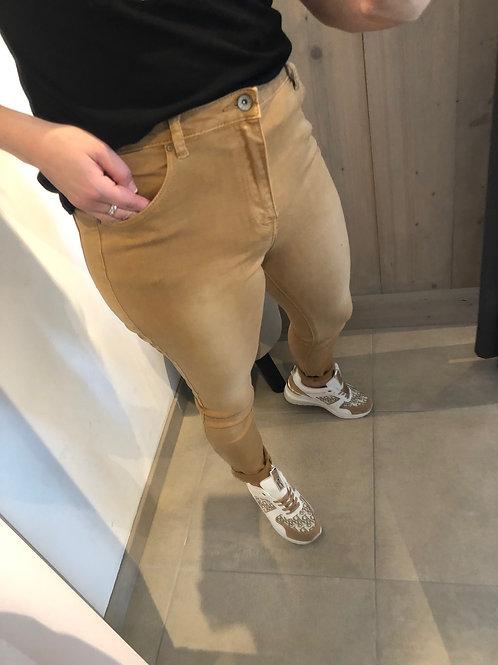 TOXIK high waist camel