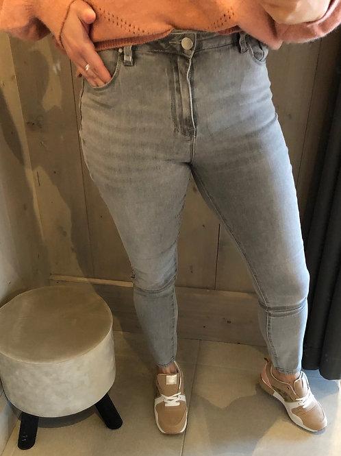 TOXIK high waist grey jeans