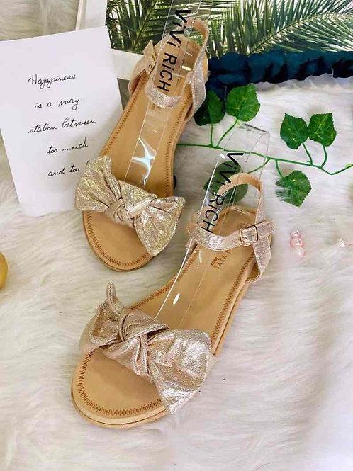Sandaal met strikje