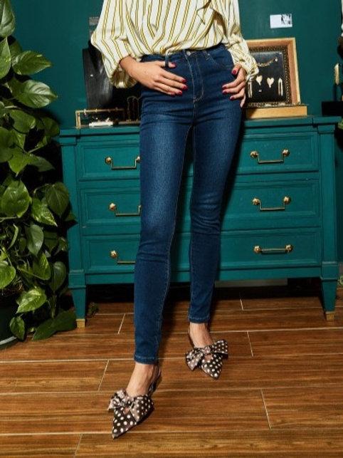TOXIK dark High waist jeans