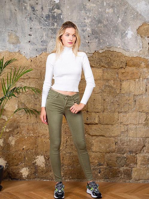 Toxik push up kaki jeans