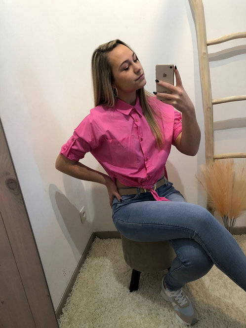 Crop blouse