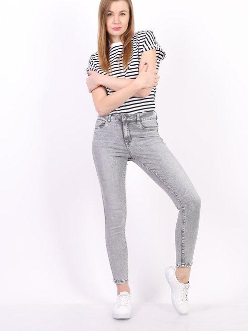 TOXIK Regular waist light grey