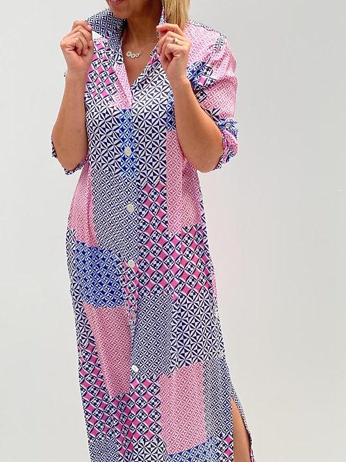 Maxi jurk CTN Patch