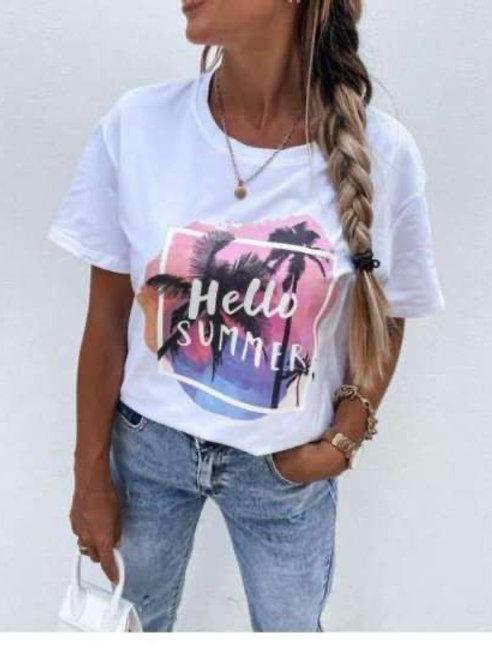 T-shirt hello summer