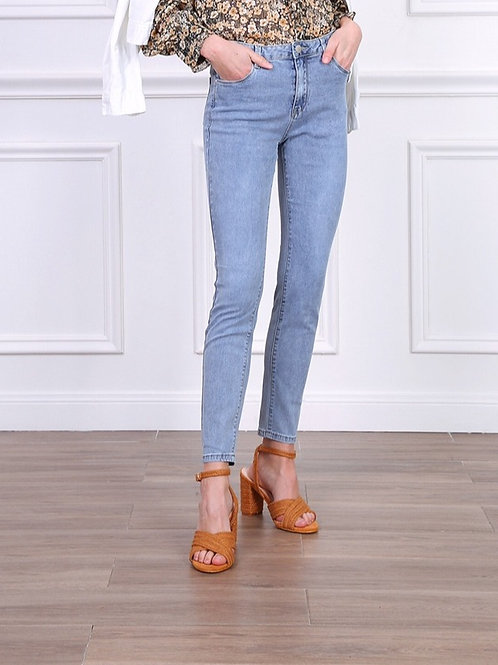 TOXIK high waist blue jeans