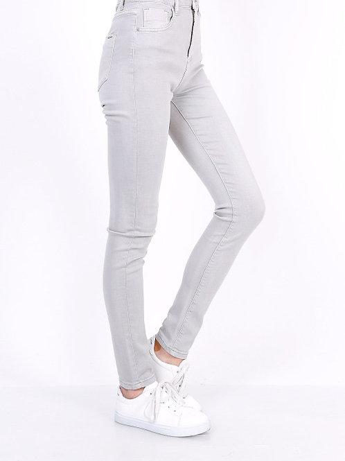TOXIK high waist basic grey