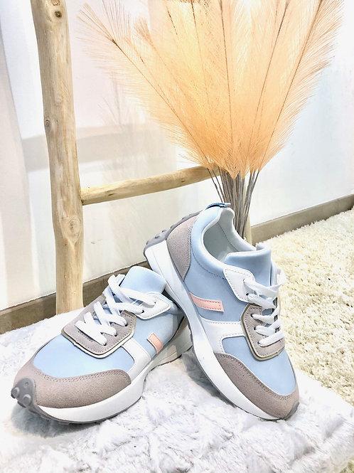 Sneaker baby blue