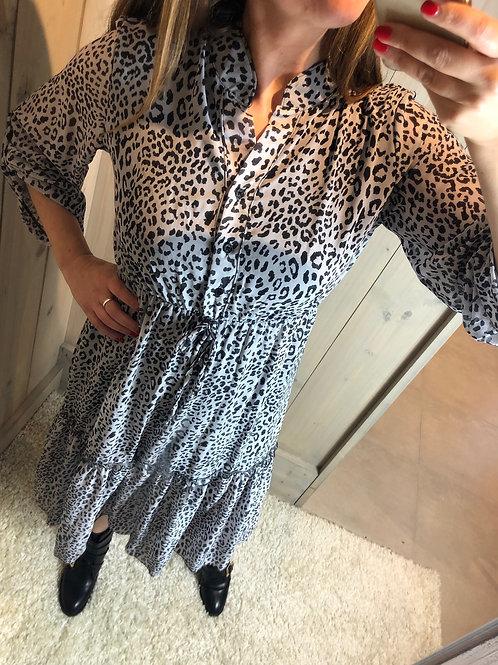 Midi dress leo grey