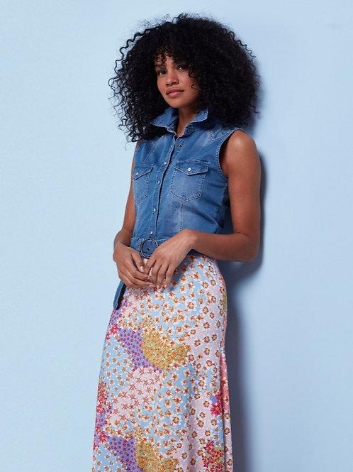 Maxi jurk K DESIGN Sunshine jeans