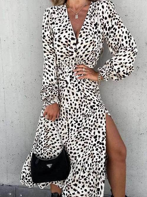 Maxi jurk Zena wit