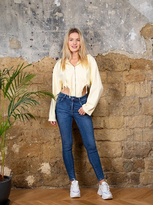 Toxik push up blue jeans