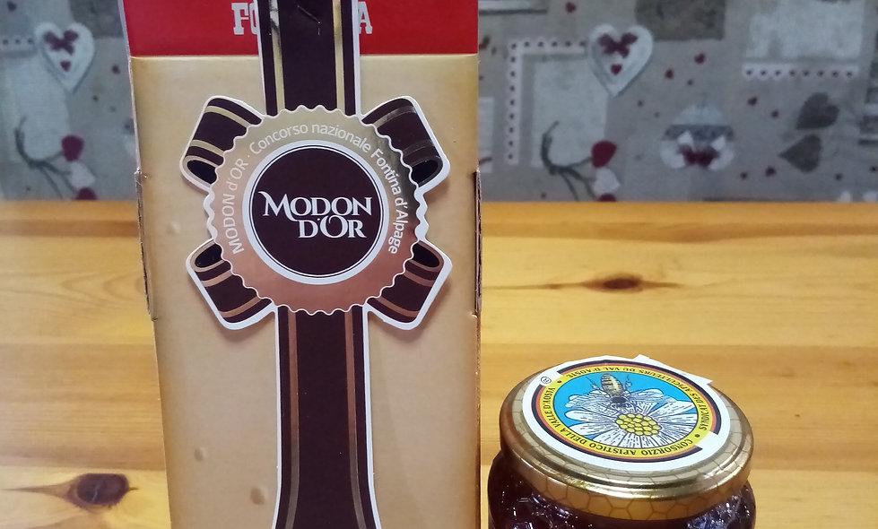 Modon d'Or + Miele di Castagno
