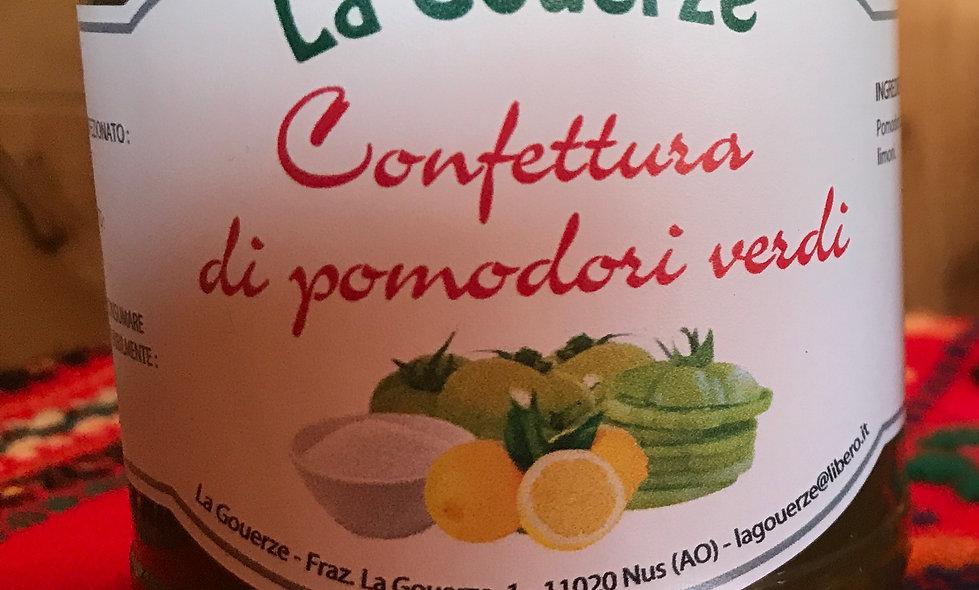 Confettura di pomodori verdi 200g