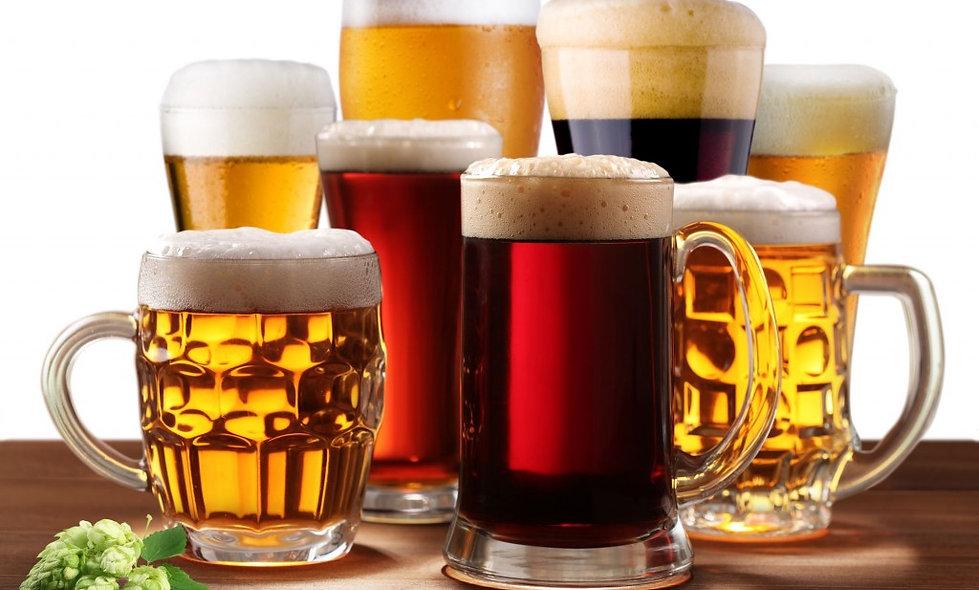 Carrellata di 9 Birre Agricole ed Artigianali