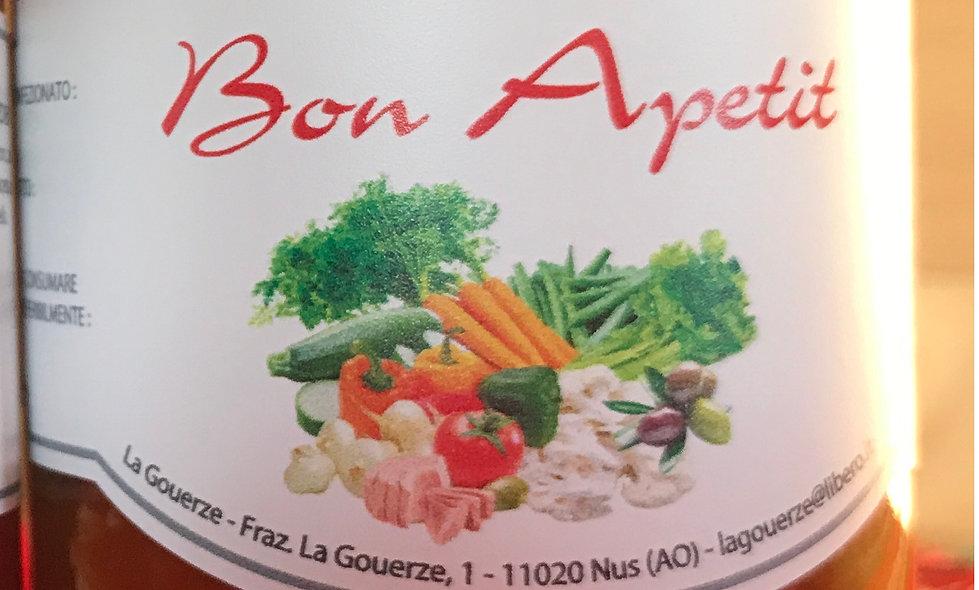 Bon Apetit 300g Antipasto di Verdure e tonno
