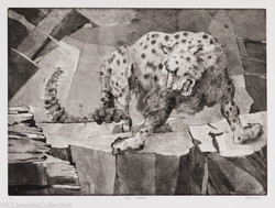 """Snow Leopard from """"A Day at the Zoo"""", 2007"""